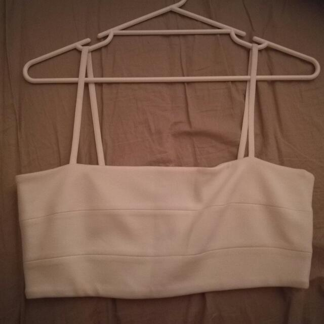 Witchery White Crop Top