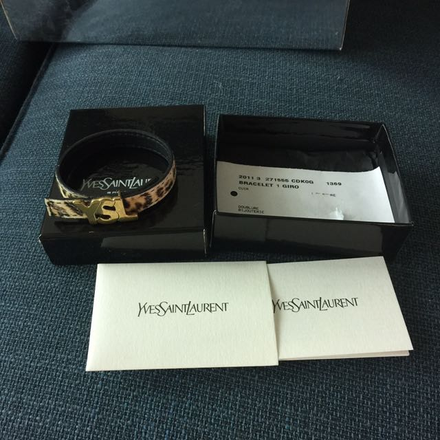 Reduce Price Authentic YvesSaintLaurent Bracelet