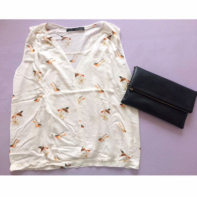 Zara Bird Shirt