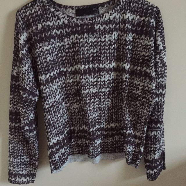 Zara Detailed Sweater