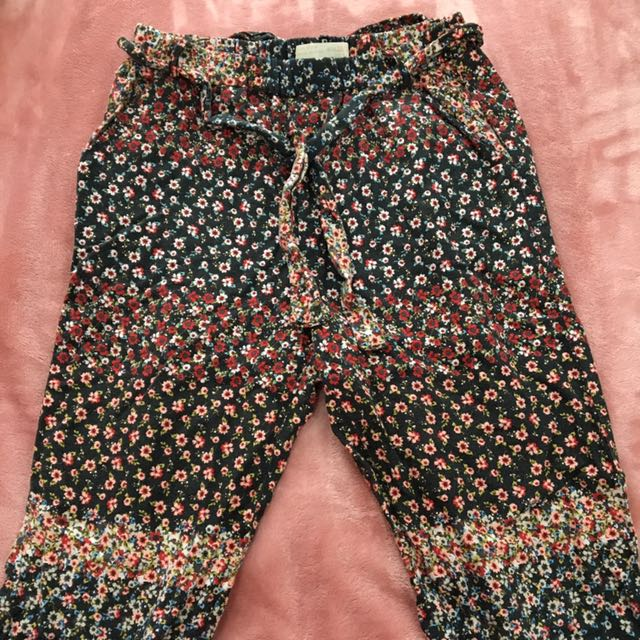 Zara Girls Printed Pants