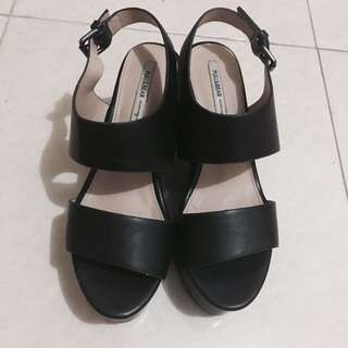 Black Heeled Sandals Pull&bear