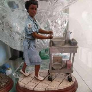 Hospital Lady Statue