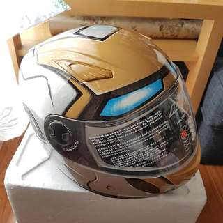 NEW Ironman Motorcycle Helmet, Size Small