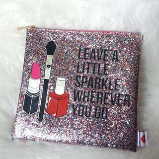 Leave A Little Sparkle Makeup Pouch