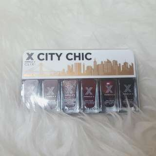 Formula X City Chic Clix Mini Nail Polish Set