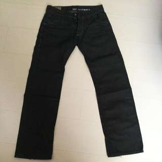 100% Authentic Ted Baker Men Black Jeans