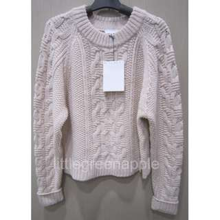 New!Witchery Cable Knit Jumper, RRP$129.95