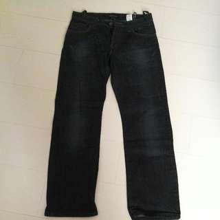 100% Authentic Emporio Armani Men Dark Blue Jeans