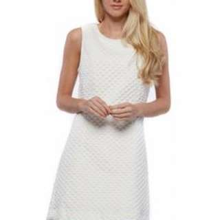 LA BELLE QUILTED  SHIFT DRESS