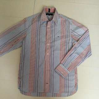 100%  Authentic Tommy Hilfiger Men Long Sleeve