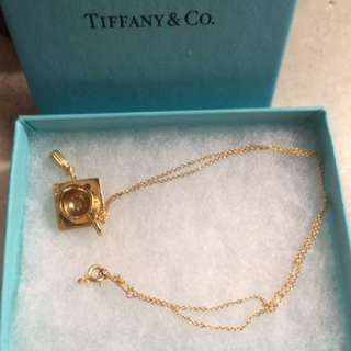 Tiffany & Co Graduation Necklace And Pendant