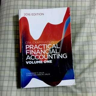 Practical Accounting Valix Vol.1