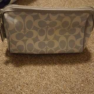 Used Coach Makeup Bag