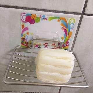 🚚 ‼️MIT台灣製造,史上最強‼️超強力隨意貼肥皂架(貼片花色隨機)