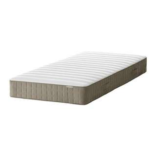 IKEA 9.5成新單人彈簧床墊(附保潔墊)