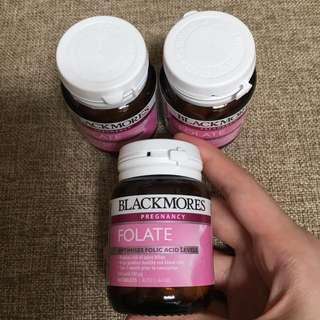Blackmores Folate folic acid 500mcg