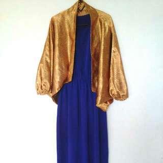 Long Dress / Gaun Pesta / Dress Batik