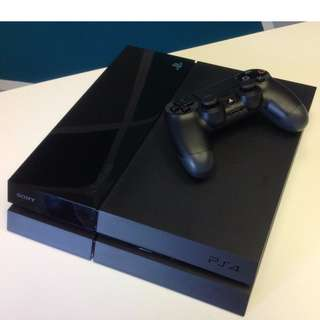 *USED* PS4 500gbs Console with controller