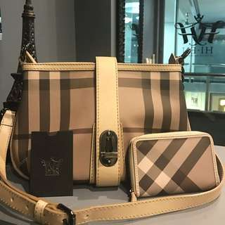 BURBERRY Crossbody Bag & Wallet
