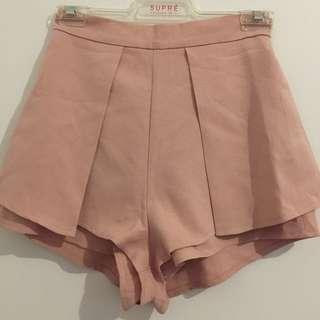 Light Pink shorts Size 8
