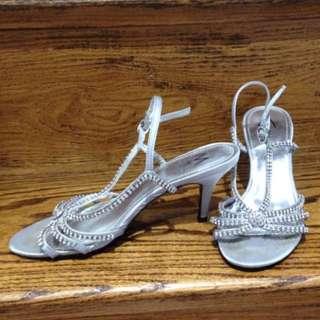 Silver Sandal Size 6