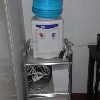 Water Dispenser With Mini Cabinet