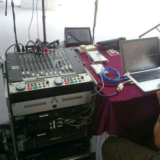 Rental for PA System/Karaoke equipments