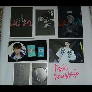 "[PRICE REDUCED]Sehun photobook ""It Was So Real"" by Iridescent Boy"