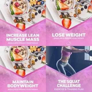 8 Week Squat & Health Guide