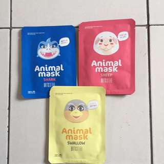 KOREAN ANIMAL SHEET MASK