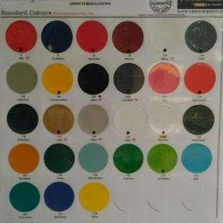 Pilox Paint Warna Standart