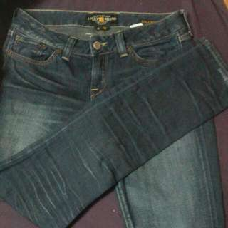 Lucky Brand Distressed Skinny Jeans