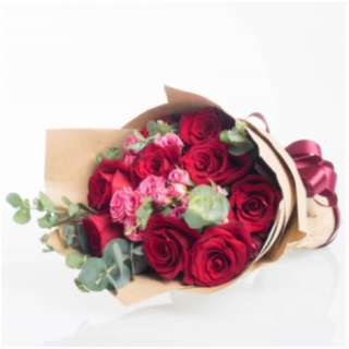 Rustic red bouquet - Rusedbq