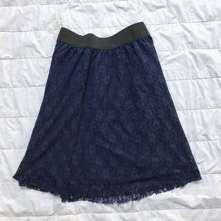 Colorbox Navy Skirt