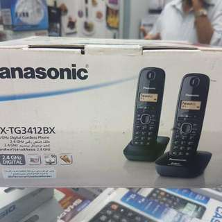PANASONIC 2.4 GHz DIGITAL CORDLESS PHONE