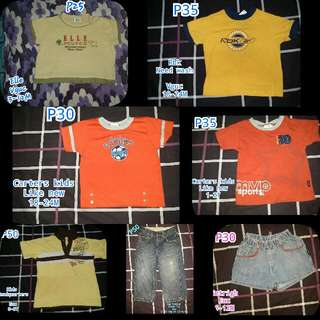 Preloved Clothes for Infants..Boy And Girl. 0-15y/o