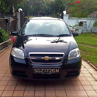 Chevrolet Aveo 1.4 (auto) for rent - P-plate drivers welcome!