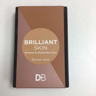 DB BRONZER HIGHLIGHTER DUO