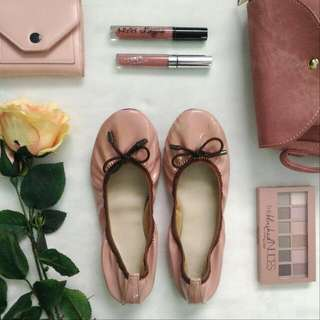 Nude Pink Doll Shoes