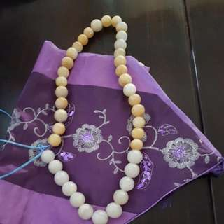 Jade Ball Necklace