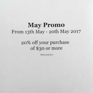 May Promo