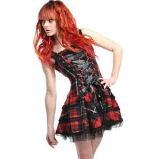 Tartan Hell Bunny Dress