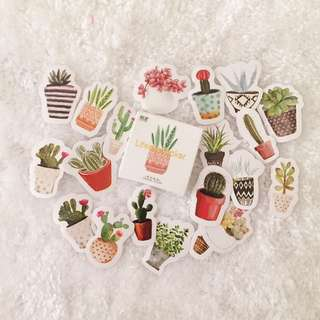 Artsy Plants & Succulents Stickers