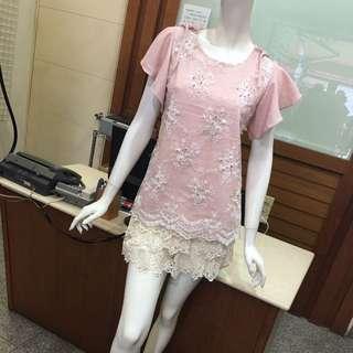 🚚 韓國蕾絲洋裝