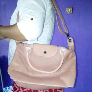 Longchamp Peach Bags