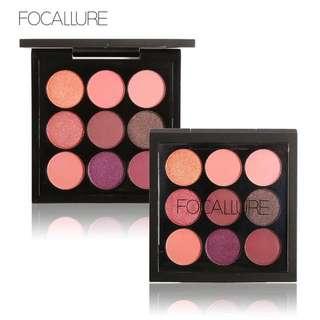 PO!! Focallure Eyeshadow 9 Colors