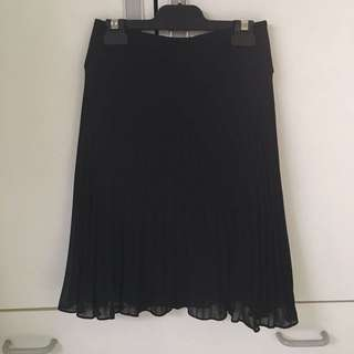 REVIEW Pleated Skirt