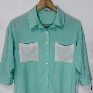 BNY Mint Green Polo