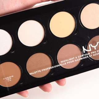 Nyx Contour And Highlighting Pro Palette